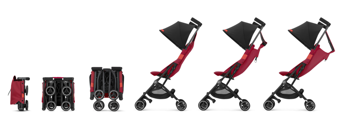 pockit plus rose red all terrain 2019